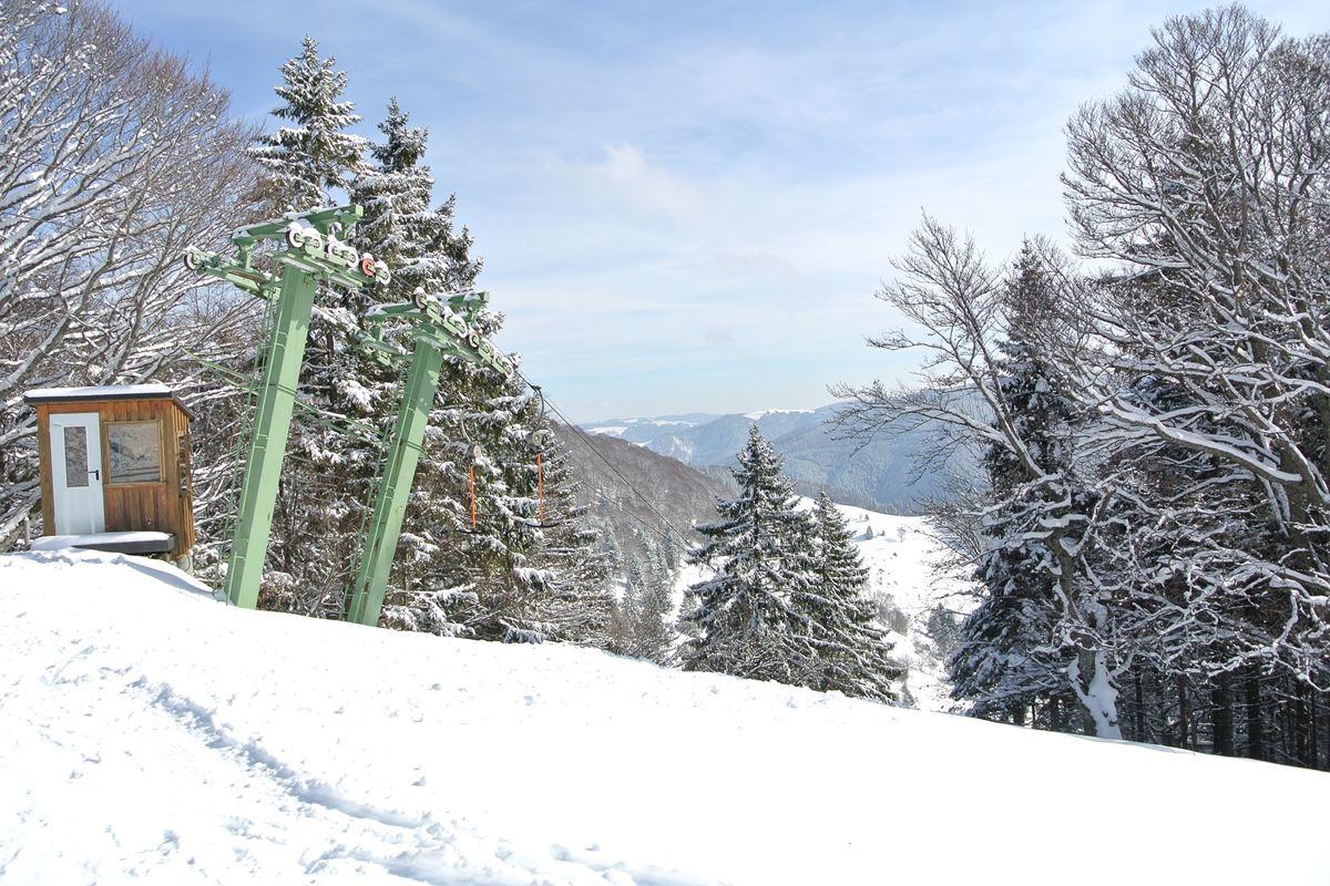 Skilift im Hochschwarzwald