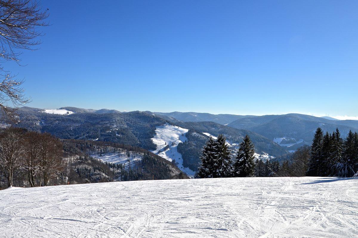 Schneelandschaft im Hochschwarzwald